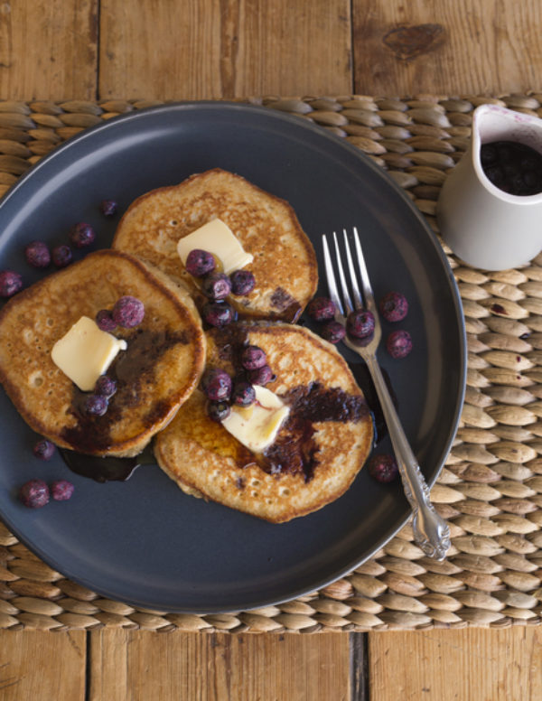 Thunder Oat Cakes With Blueberries