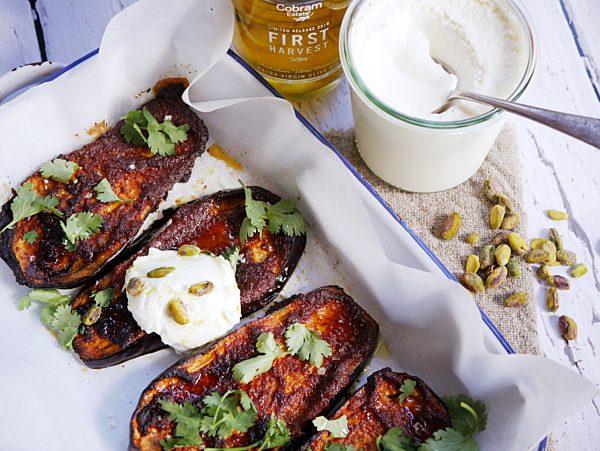 Tikka Masala Roasted Eggplant LS Fotor