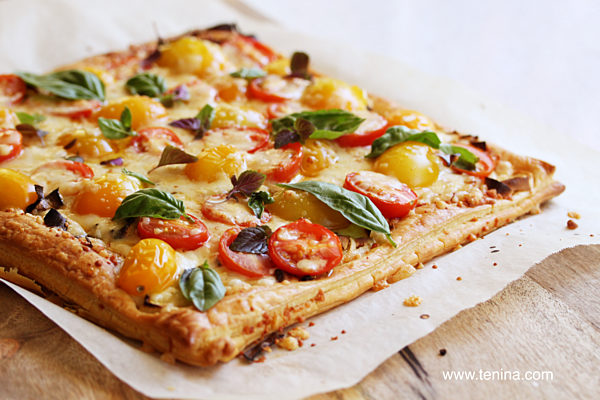 Tomato-and-Leek-Tart