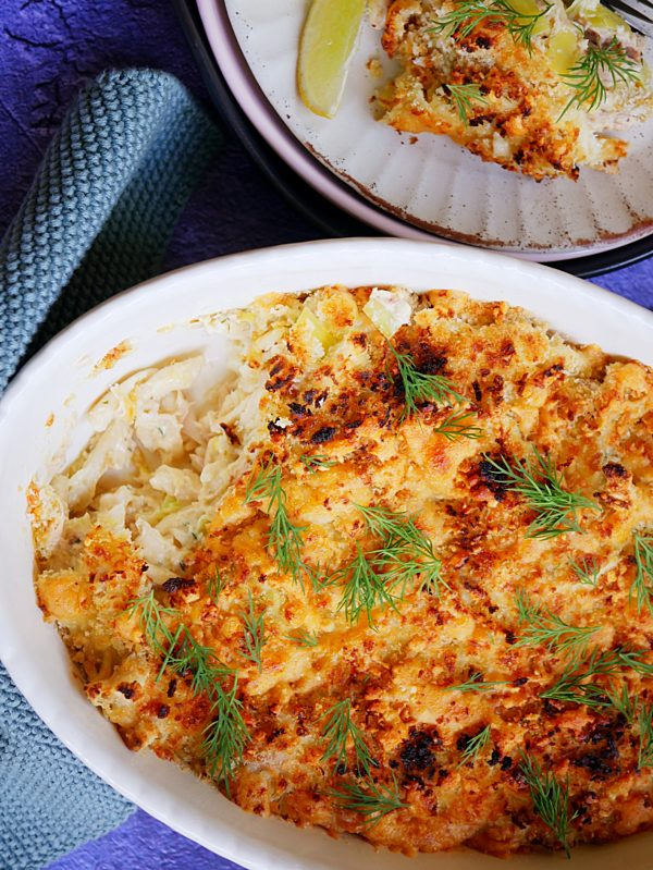 Tuna Casserole with Leeks and Fresh Dill P TENINA