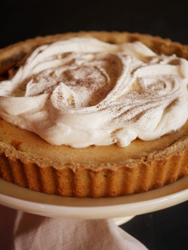Vanilla Scented Lemon Cheesecake Flan angle P THERMOMIX