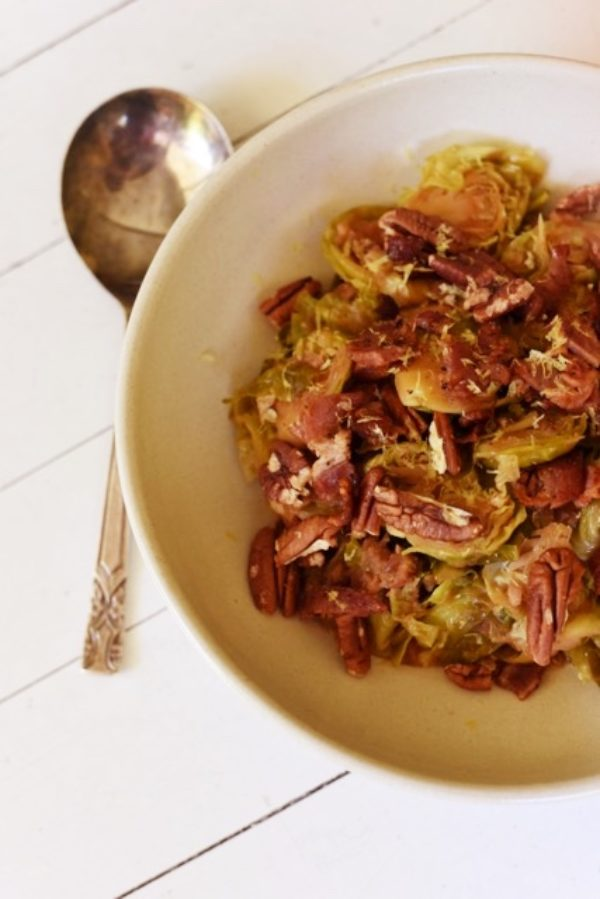 Warm Brussels Sprouts Braise Fotor