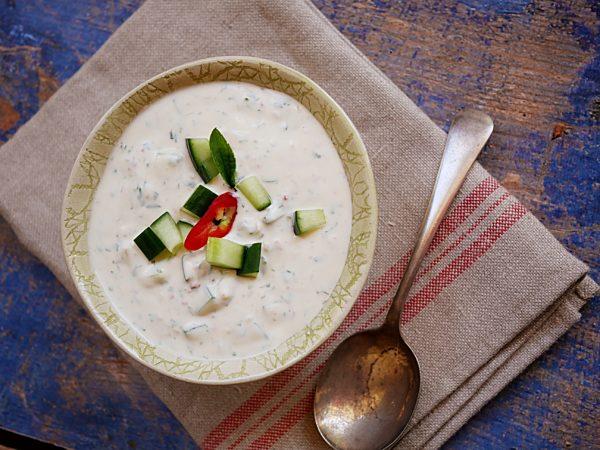 Yoghurt Mint Dip Fotor