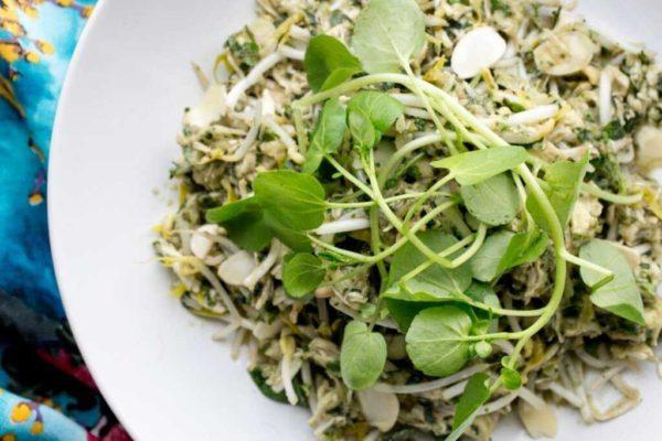 Photo of Skinnymixer's Asian Herb Salad