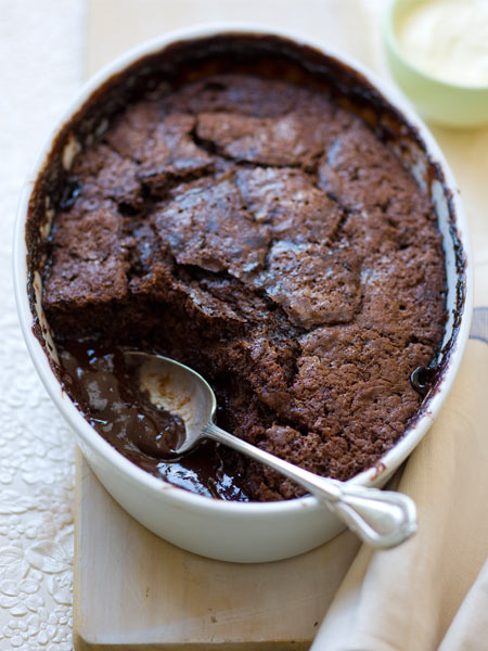 Thermomix recipe: Self Saucing Chocolate Puddings · Tenina.com