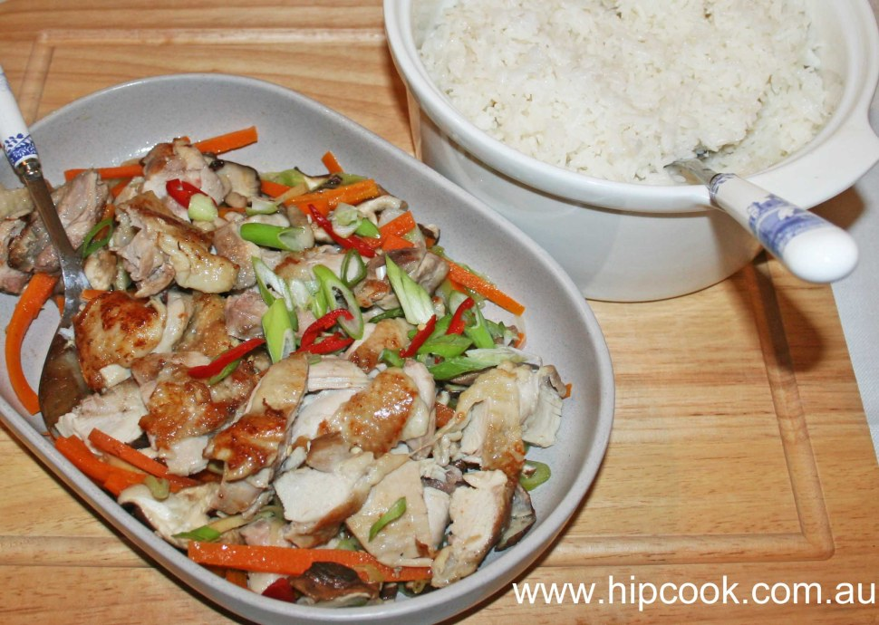 Thermomix recipe chinese steamed chicken with vegetables tenina forumfinder Images